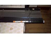 Black PVC vertical blind