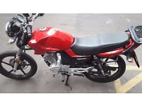 Lexmoto ZSF 125cc motorbike (Spares/Repairs)
