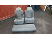 classic mini grey cloth seats standard