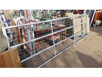 12 Foot full mesh galvanised farm gate new