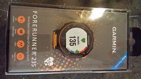 Garmin forerunner 235 heart rate monitor solar flare (elevate)