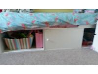 white cabin bed base for sale.