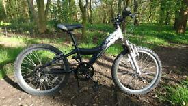 "Kids Giant Bike VGC 20"" wheels F Suspension RRP £200"