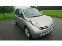 Nissan Micra 1.2 16v Visia 5dr 39k miles, 1 previous keeper Mot September 2018