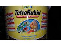 TETRA RUBIN FLAKES FISH FOOD For Tropical Fish Food Flake Discus, Malawi Cichlid