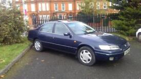 1997 TOYOTA CAMRY 2.2 petrol ONLY 42000 MILES FROM NEW 1 LADY OWNER (1yearsMOT)