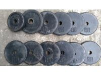 30kg worth of dumbell weights