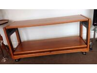Extending Teak Coffee Table / Occasional table on castors