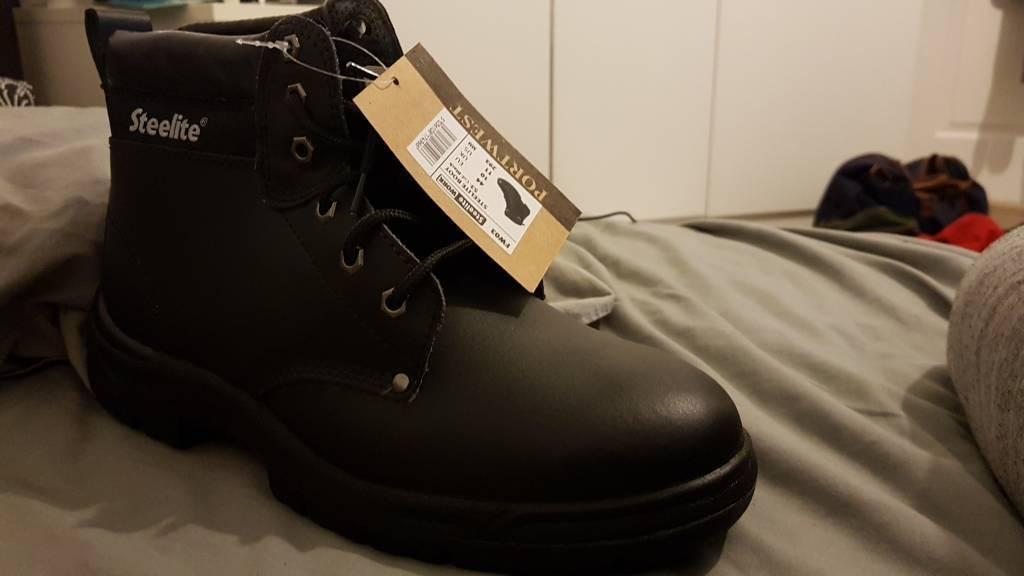 Steel toe cap Botas Talla 10 10 Talla brand new 0a3f4b