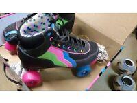 Rio Roller Quad Roller Skates - Passion