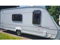 ace jubillee 4 berth touring caravan 2005 with motor mover