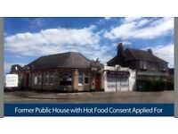 To Let / For Sale: Former Public House (Hot Food Consent Applied For) / 2,292sq ft