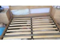 King size ottoman bed