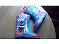Thomas the Tank welly boots size 8 New