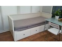 IKEA HEMNES day bed /double bed very good cond. RRP £349 - house clearance!