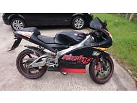Aprilia rs125 mot till march 2017