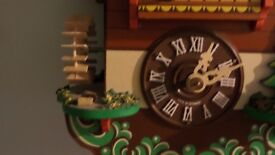 Cuckoo Clock works with Pendulum Manual Operation