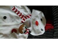 Next Snowman suit