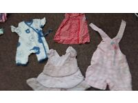 Baby clothes 0-3 months lke new
