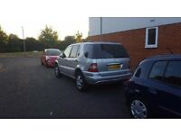 MERCEDES ML350 2005 **DUAL FUEL**
