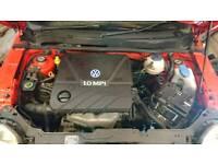 Volkswagen 1.0 engine and gearbox