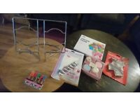 Baking bundle - Tala pipping bag, receipe book stand, cake pop moulds, cookie cutters & others