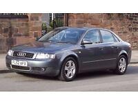 2002 Audi A4 1.9 Quattro 4 Door Saloon, Full Service History, Long MOT, Must See!