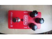 MXR Distortion III Effects Pedal Guitar FX (Jim Dunlop)
