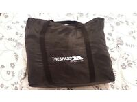 Trespass double raised air bed with built in pump