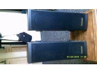 Toshiba x2 Surround Sound Speakers