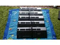 HP Genuine wired Keyboards Black