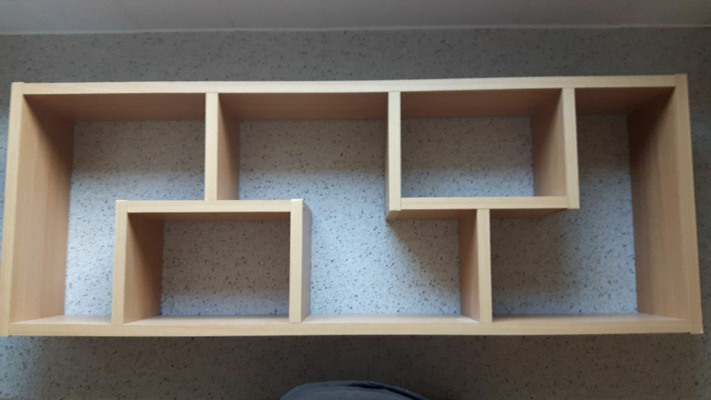 Wooden Shelf Wall Mounted Shelving Unit Display Ornaments
