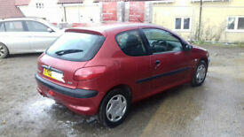 Peugeot 206 1.4 LX Aircon with 12 Months MOT