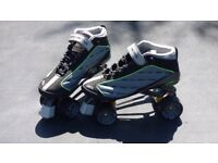 Roller Derby Alpha Quad Skates Size 7 - Excellent Condition