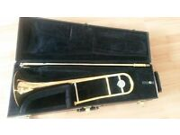 Bb Yamaha Tenor Trombone YSL 445G with rose brass bell - excellent condition!