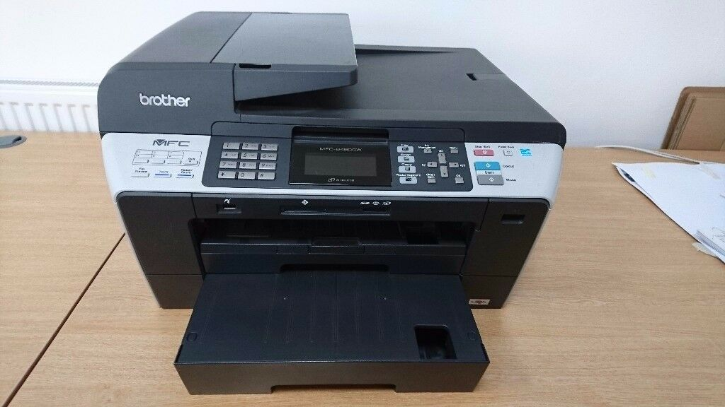 Brother MFC-6490CW All-in-One Inkjet Printer