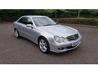 2007 Mercedes-Benz CLK 220 CDI Avantgarde   FSH   2 Keys   Serviced This Month   Long MOT