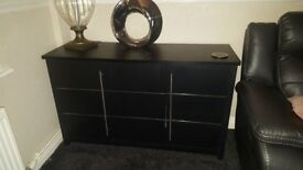 Consort black sideboard
