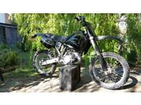 Road legal Husqvarna CR 125 full day time mot