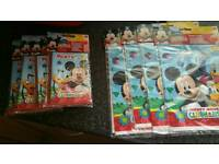 Mickey mouse party suppiles