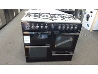 New graded flavel range cooker 100cm black for sale in Coventry 12 month warranty