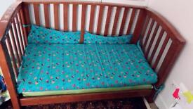 2 in Cot bed to junior bed