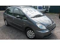 TOP OF THE RANGE PICASSO AUTOMATIC 04 REG WITH FULL LEATHER..CRUISE CONTROL..ELECTRIC PAN SUNROOF..