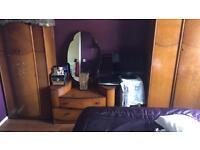 Antiquated bedroom furniture