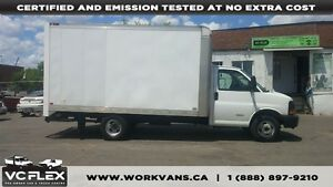 2009 Chevrolet Express G4500 14Ft Aluminum Box V8 Gas
