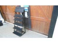 24 ins wide x 6 adjustable shelf steel freestanding metal shelving unit. ideal for garage, workshop