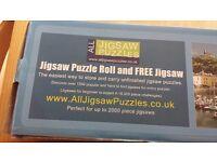 Puzzle roll matt and puzzle set