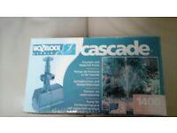 Cascade Fountain and Waterfall Pump for Garden