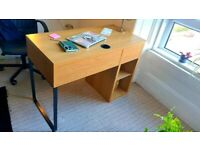 Ikea Micke Desk Oak Effect