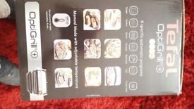 tefal optigrill with baking try